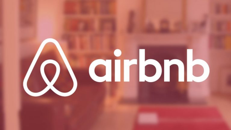 airbnb home page